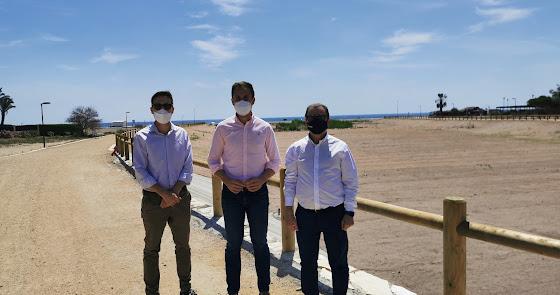 Finalizan los trabajos de encauzamiento y evacuación de la Rambla del Algarrobo