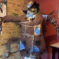 Parker PM Decorates Clark Street for Halloween
