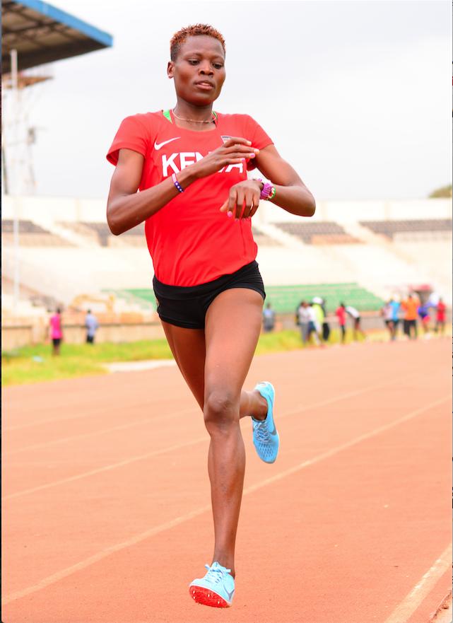 Nalianya in awe of talented 4x400m relay teammates