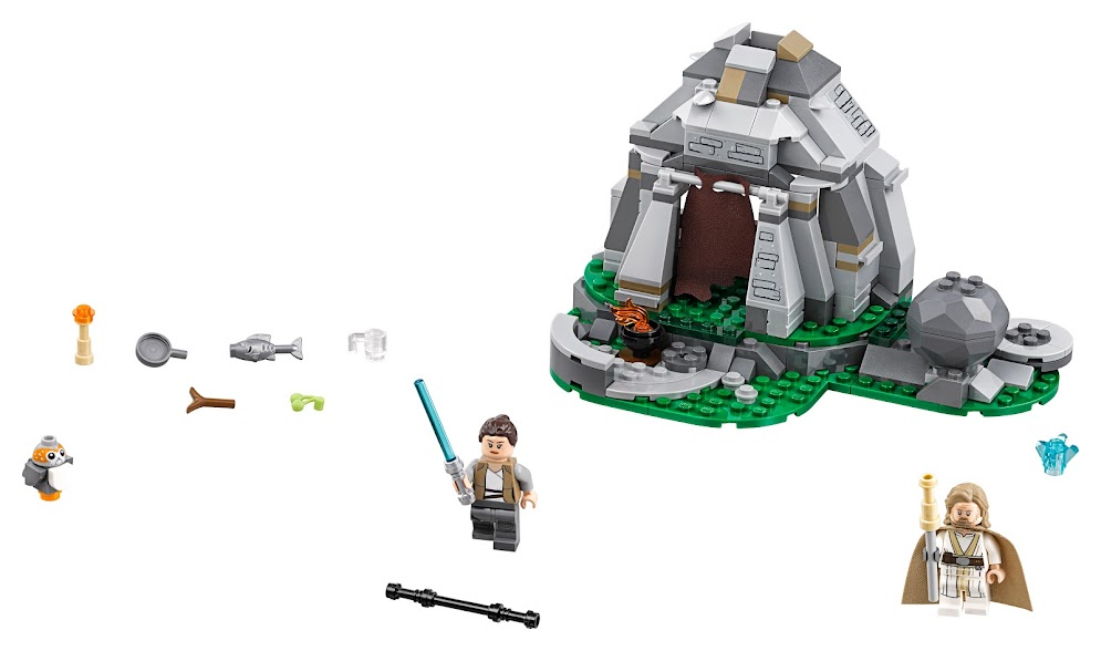 Contenido de Lego® 75200 Entrenamiento en Ahch-To Island™
