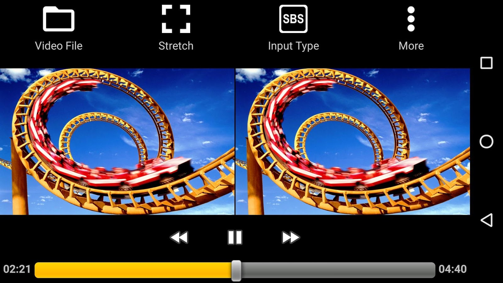 Iplay Vr Player For Sbs 3d Android Apps On Google Play