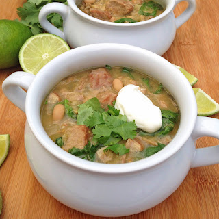 Slow Cooker Pork Chili Verde.