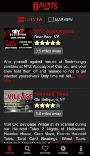 Haunts.com- screenshot thumbnail