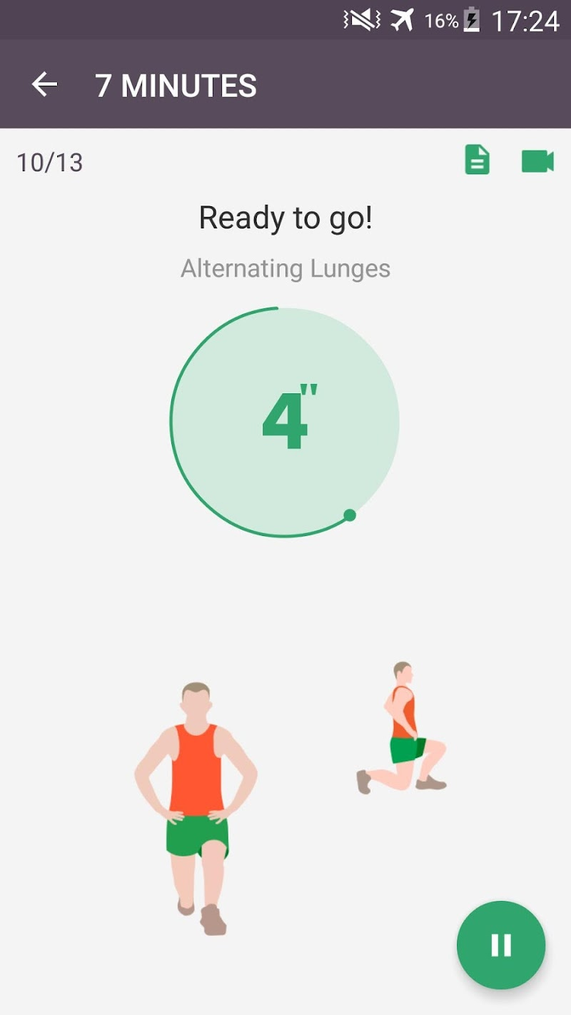 Home Workout - No Equipment & Meal Planner Screenshot 3