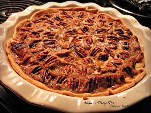 """Mama's Pecan Pie """"This is one of my favorite pies. It is..."""