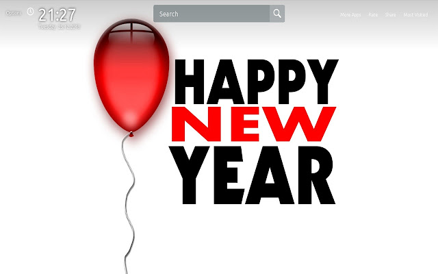 new year wallpapers theme new tab