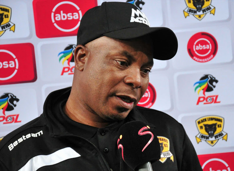 Chippa United interim coach Joel Masutha is not looking over his shoulder