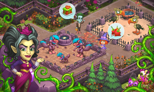 Monster Farm: Happy Halloween Game & Ghost Village 1.17 screenshots 15