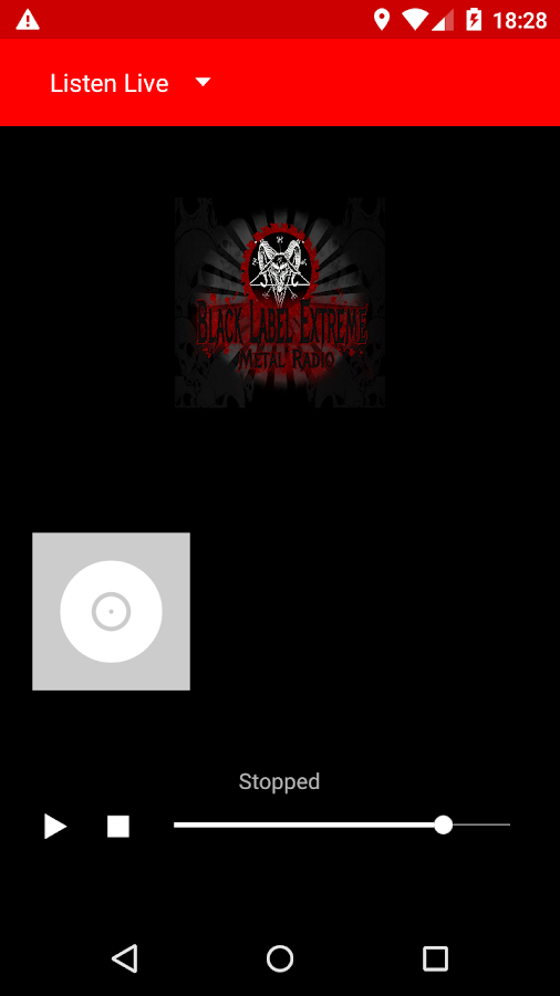 Black Label  Metal Radio- screenshot