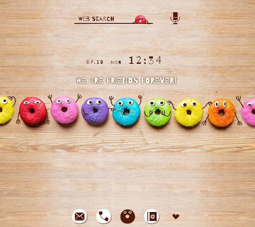 Wallpaper Donut Buddies Theme 1.0.1 Windows u7528 1