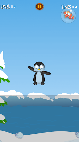 android Bouncy Penguin Screenshot 2