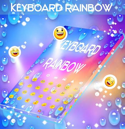 Rainbow Keyboard with emojis 1.181.1.8 screenshot 2092269