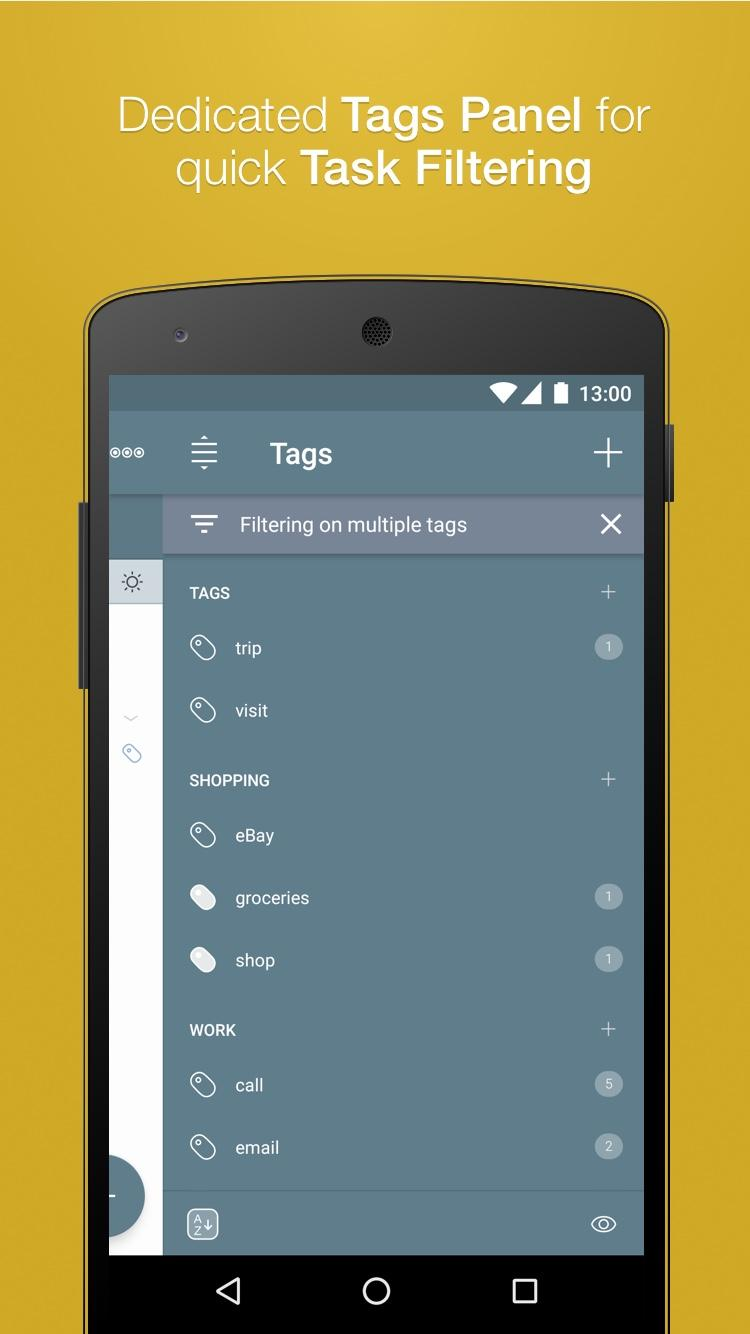 2Do - Reminders, To-do List & Notes Screenshot 5