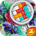 Magic Cross Stitch: Color by number & Pixel Art icon