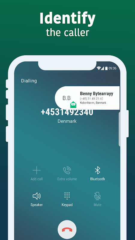 All Email Access with call screening screenshots