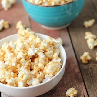 Semi-Healthy, Corn Syrup-Free Caramel Corn