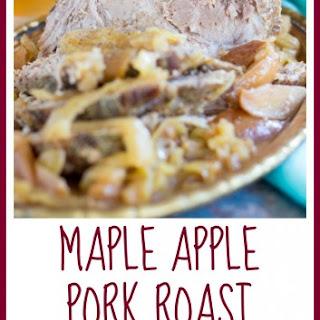 Slow-Cooker Maple Apple Pork Roast Recipe
