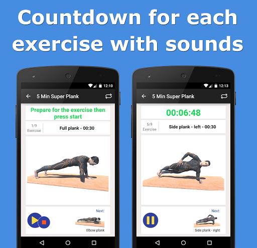 5 Min Super Plank Workout PRO