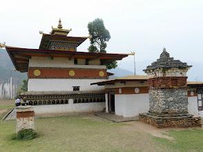 Photo: Am Tempel angekommen.