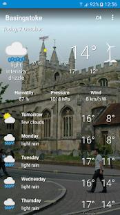 Basingstoke, Hampshire - Weather - náhled