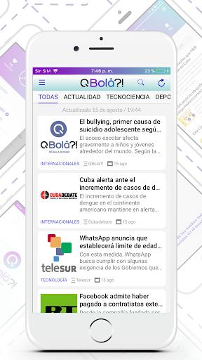 QBolu00e1?! - Cuba News 2.0.6 screenshots 2