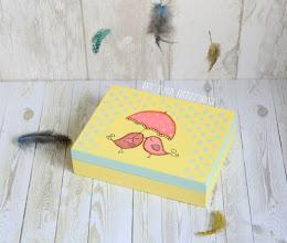Photo: pudełko na obrączki birdy