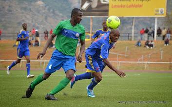 Photo: Sulaiman Sesay [Leone Stars v Swaziland 18 May 2014 (Pic: Darren McKinstry)]