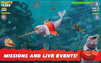 Hungry Shark Evolution APK screenshot thumbnail 13