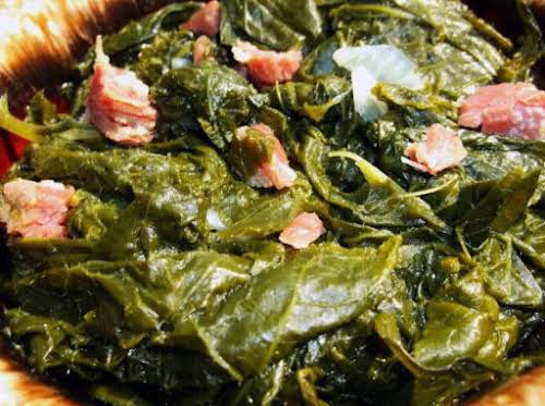 "Down South Turnip Greens ""The BEST turnip greens!"" - BlueGinghamApron"