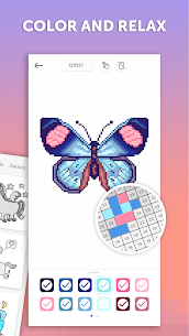 PixelArt: Color by Number, Sandbox Coloring Book 5