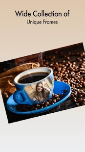 Coffee Cup Photo Frame Maker - náhled