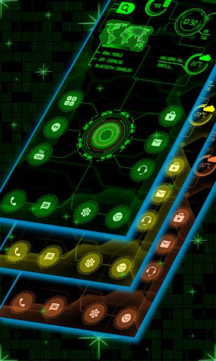 Circuit Launcher 2019 Pro - Next Generation theme  screenshots 1
