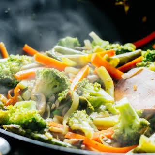 Stir Fry Vegetables.