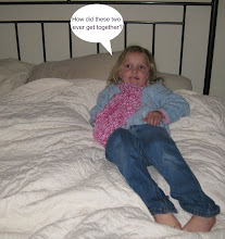Photo: And she soon discovered that Papa Bear's bed was (all together now) too hard, and Mama Bear's bed was too soft.