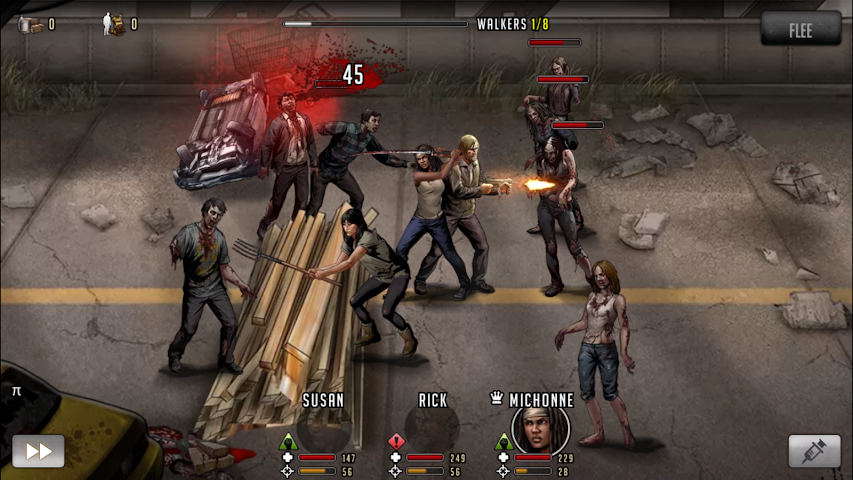 android Walking Dead: Road to Survival Screenshot 11