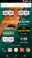 Screenshot of World Clock Widget 2015