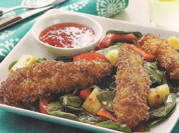 Coconut Chicken With Pepper Jelly Sauce Recipe