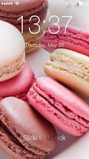 Sweet Macaron ART PIN Lock - náhled