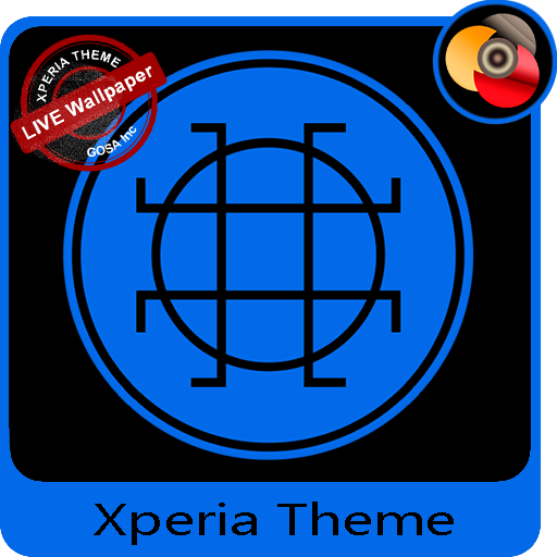 Black & Blue | Xperia™ Theme