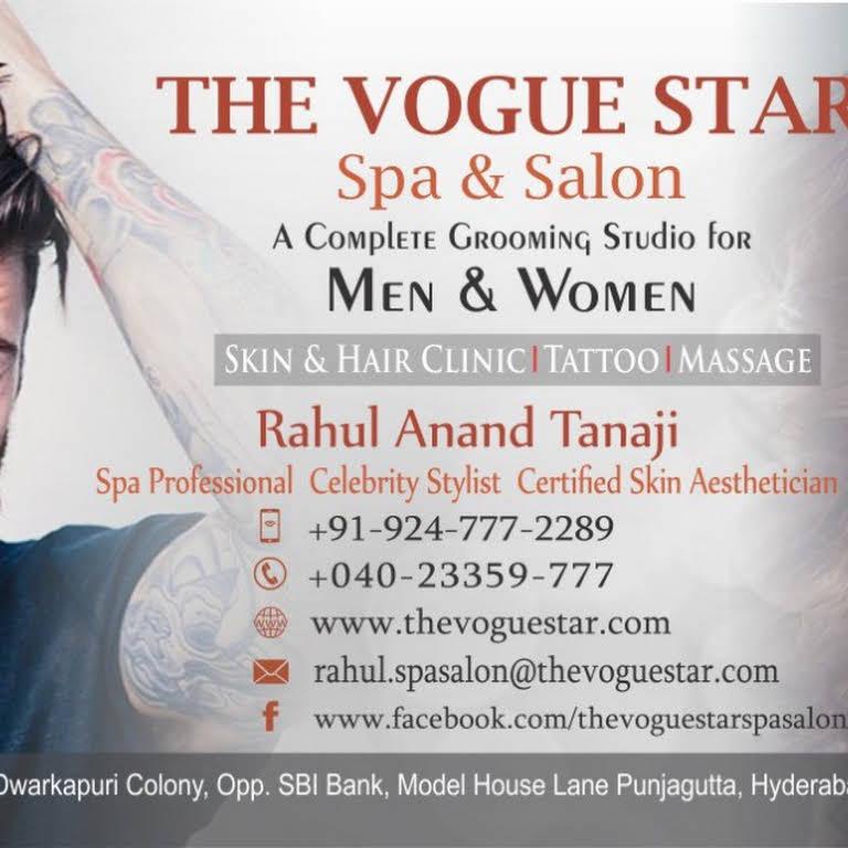 The Vogue Star spa & salon for Men & Women skin clinic