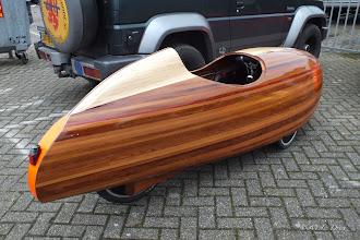 Photo: De houten 'Quest'. Wat is ie mooi hè!