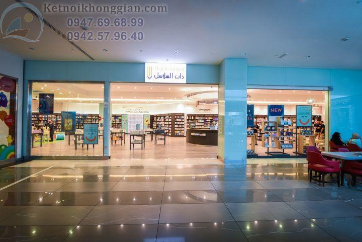 thiết kế nội thất nhà sách chuyên nghiệp
