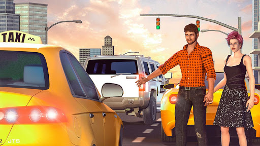 Car Taxi Driver Simulator 2019 1.4 screenshots 1