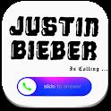Fake Call Justin Bieber Prank icon