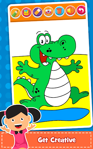 Coloring Games : PreSchool Coloring Book for kids 1.1 screenshots 3