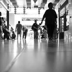 Walking The Floor by Mohd Nazeerul - People Street & Candids ( jebat.net, 2012, bandar seri begawan, unplan crew, street camp, street photography )