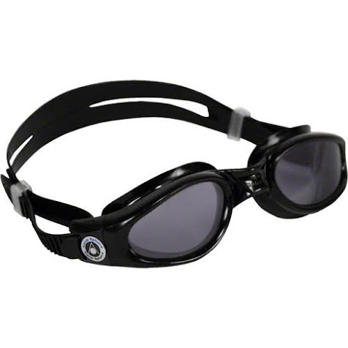 Aqua Sphere Kaiman SF Goggles: Black with Smoke Lens
