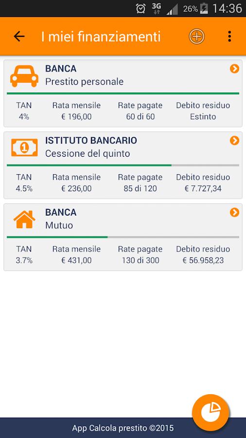 Calcola Prestito - App Android su Google Play