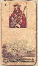 Photo: 1846 A legrégebbről fent maradt Lenormand jóskártya - 6. kártyakép