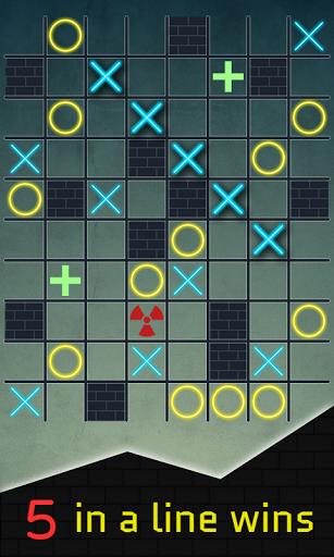 Tic Tac Toe Blocks XO android2mod screenshots 1